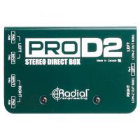 Boitier direct di Radial ProD2 Stereo Direct Box