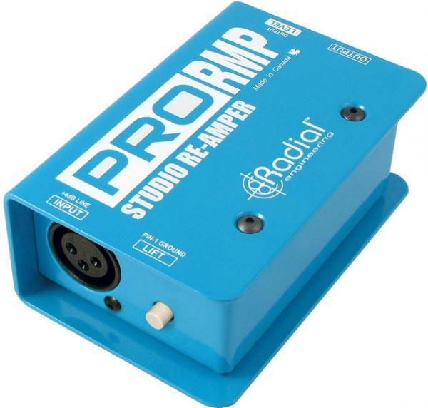 Boitier direct / di Radial ProRMP Reamp