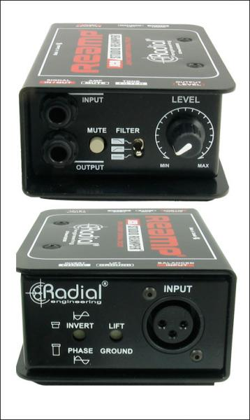 Boitier direct di Radial Reamp JCR