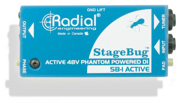 Boitier direct / di Radial StageBug SB-1 Active
