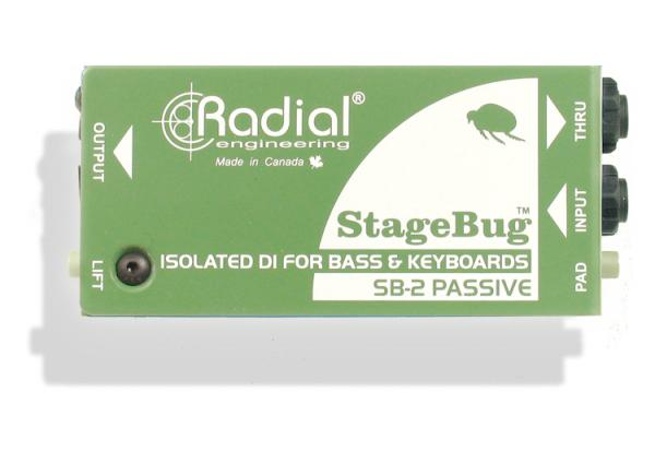 Boitier direct / di Radial StageBug SB-2 Passive