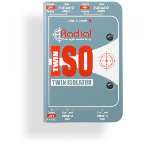 Boitier direct / di Radial Twin-Iso