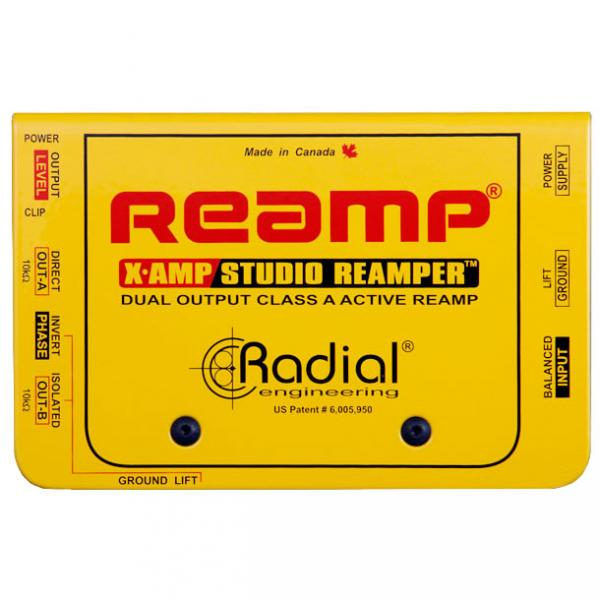 Boitier direct di Radial X-Amp Active Re-Amplifier