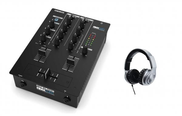 Table de mixage dj Reloop RMX-10 BT + Rhp 30 Silver