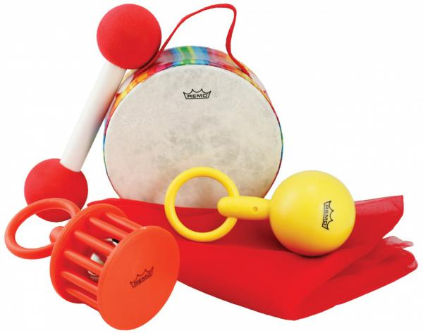 Set percussion enfants Remo Babies Make Music Kit Percussions