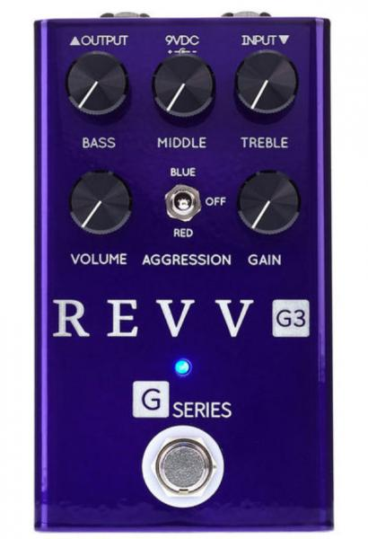 Pédale overdrive / distortion / fuzz Revv G3 Distortion
