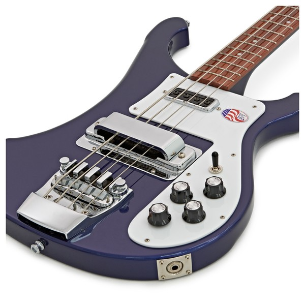 Basse électrique solid body Rickenbacker 4003S - midnight blue