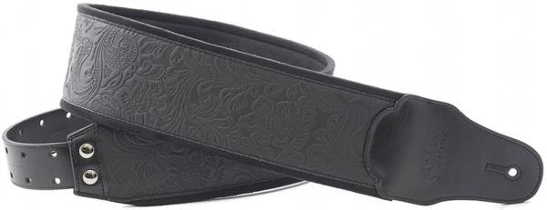 Sangle courroie Righton straps Bassman B-SANDOKAN Guitar/Bass Strap - Black