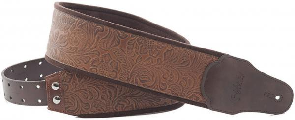 Sangle courroie Righton straps Bassman B-SANDOKAN Guitar/Bass Strap - Woody