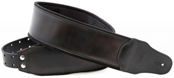 Sangle courroie Righton straps Bassman Smooth Black