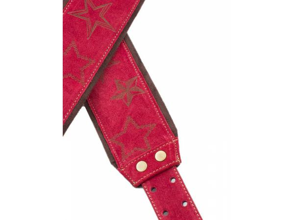 Courroie sangle Righton straps Jazz Stars Guitar Strap - Red