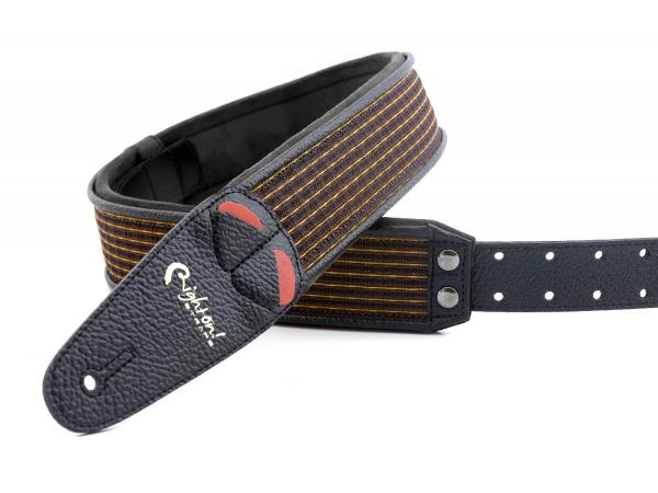Sangle courroie Righton straps Vegan Mojo Oxblood Guitar Strap