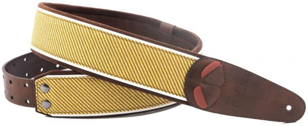 Sangle courroie Righton straps Vegan Mojo Tweed Guitar Strap