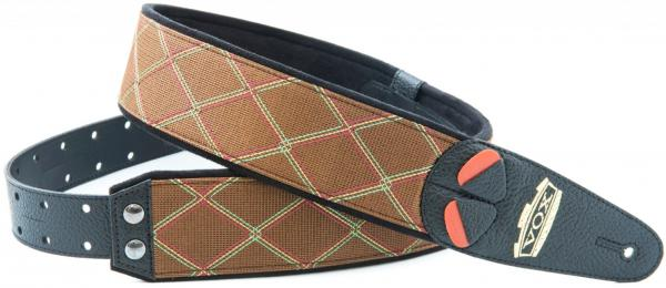Sangle courroie Righton straps Vegan Mojo VOX Guitar Strap - Brown