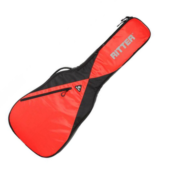 Housse guitare classique Ritter Performance RGP5-C Black Racing Red