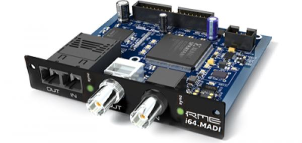 Autres formats (madi, dante, pci...) Rme i64-MADICard