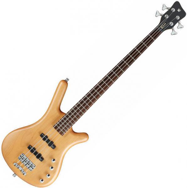 Basse électrique solid body Warwick Rockbass Corvette Basic 4 String - Honey violin trans