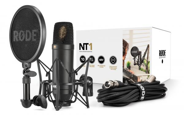 Pack micro avec pied Rode NT1 Kit