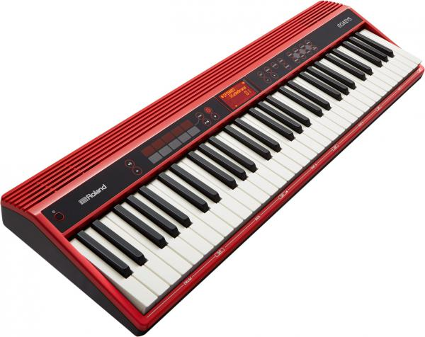 Pack clavier synthétiseur Roland GO:Keys 61 K + STAND + BANQUETTE + CASQUE