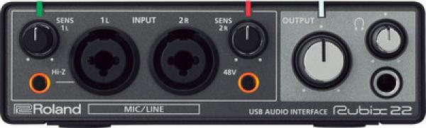 Interface audio usb Roland Rubix 22