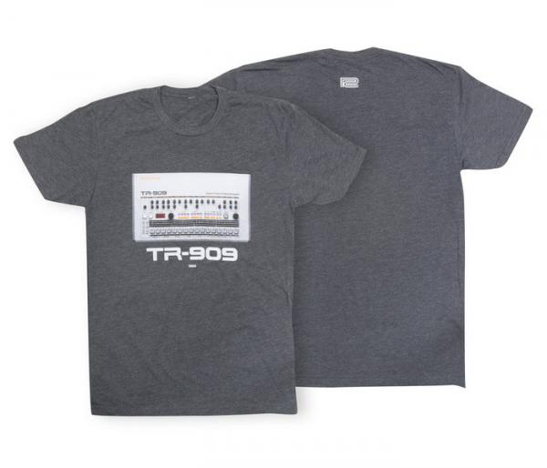 T-shirt Roland TR-909 Crew T-Shirt Charcoal - M
