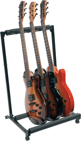 Stand & support guitare & basse Rtx X3GN En Kit Pour 3 Guitares