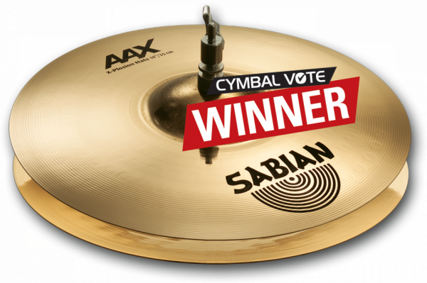 Cymbale hi hat charleston Sabian AAX X-Plosion Hats - 14 pouces