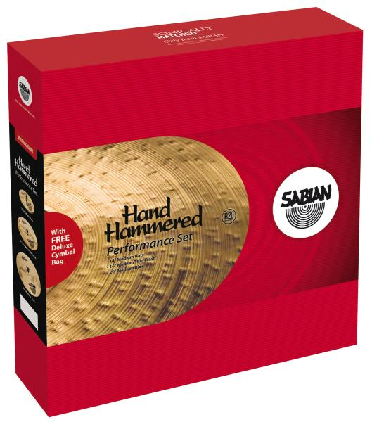 Pack cymbales Sabian HH set Pack Harmo Perf - 15005