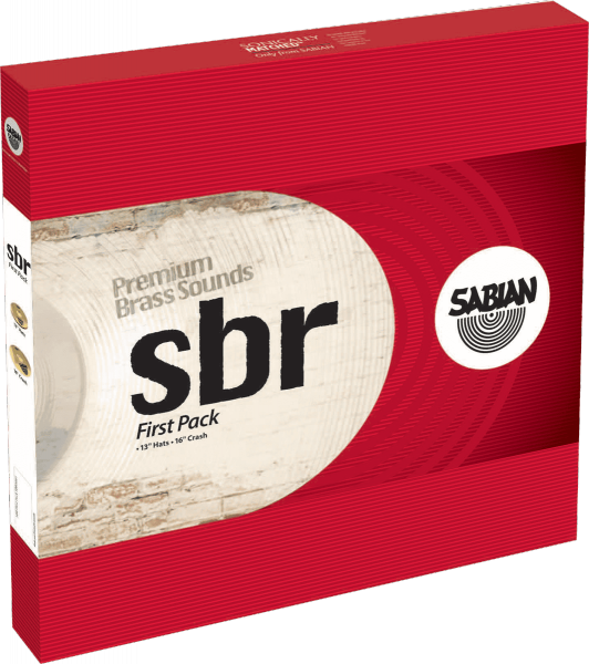 Pack cymbales Sabian SBR First Pack