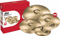 Pack cymbales Sabian XSR5005GB Set Harmonique 14