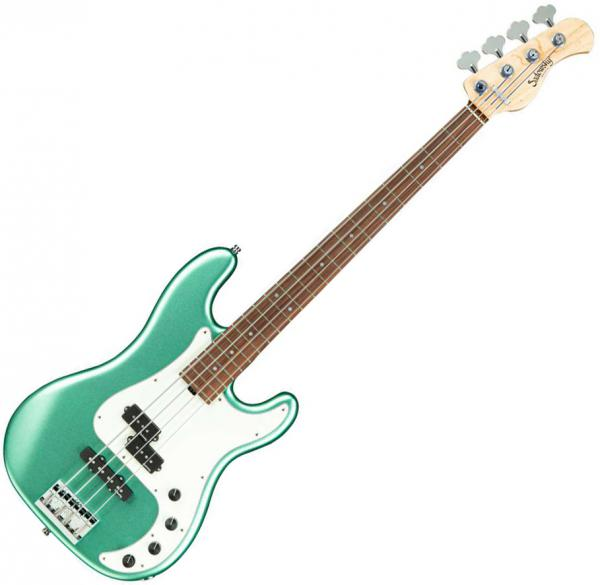 Basse électrique solid body Sadowsky Hybrid P/J Bass 4 Alder Metroline 21-Fret (Germany, MOR) - Sage green metallic satin