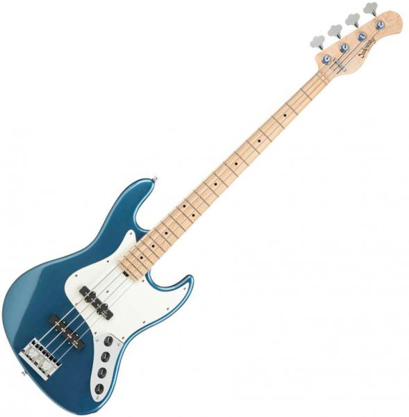 Basse électrique solid body Sadowsky J/J Bass 4 Ash Metroline 21-Fret Vintage (Germany, MN) - Dark lake placid blue metallic