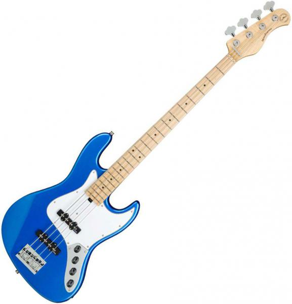 Basse électrique solid body Sadowsky MetroExpress 21-Fret Vintage J/J Bass 4 (MN) - Ocean blue metallic