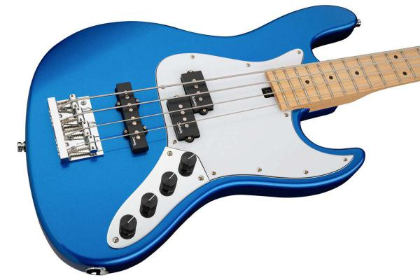 Basse électrique solid body Sadowsky MetroExpress 21-Fret Hybrid P/J Bass 4 (MN) - ocean blue metallic