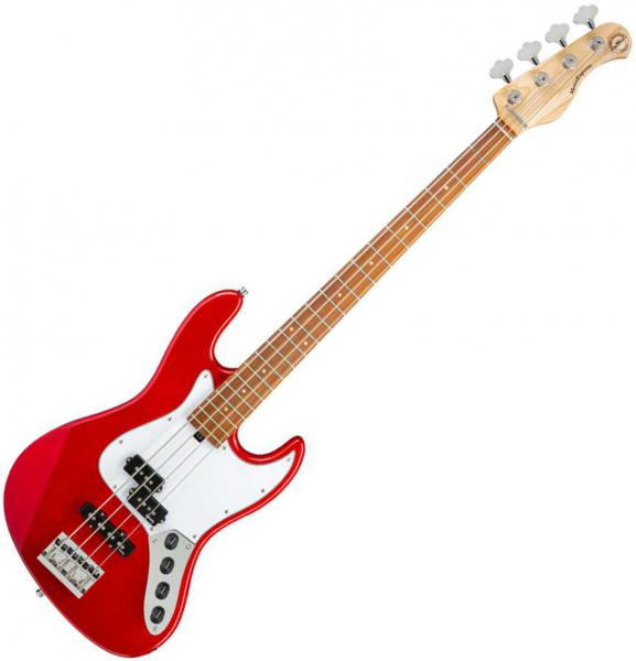 Basse électrique solid body Sadowsky MetroExpress 21-Fret Hybrid P/J Bass 4 (MOR) - Candy apple red metallic