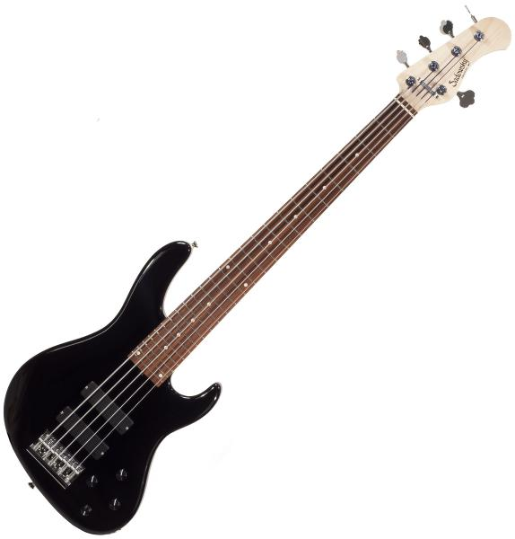 Basse électrique solid body Sadowsky R5-24 Metroline Modern Japan (RW) - Black