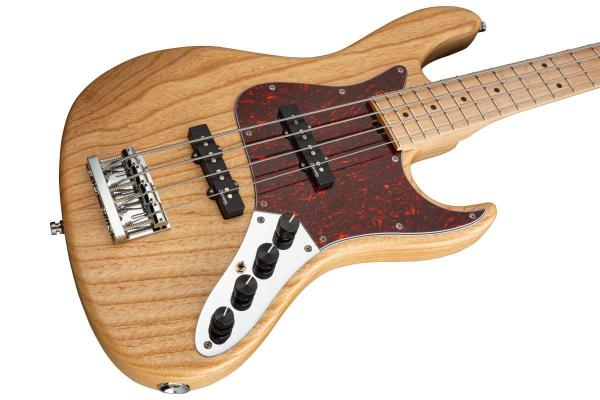 Basse électrique solid body Sadowsky Will Lee MetroLine 22-Fret Swamp Ash 4 (GER, MN) - natural trans satin