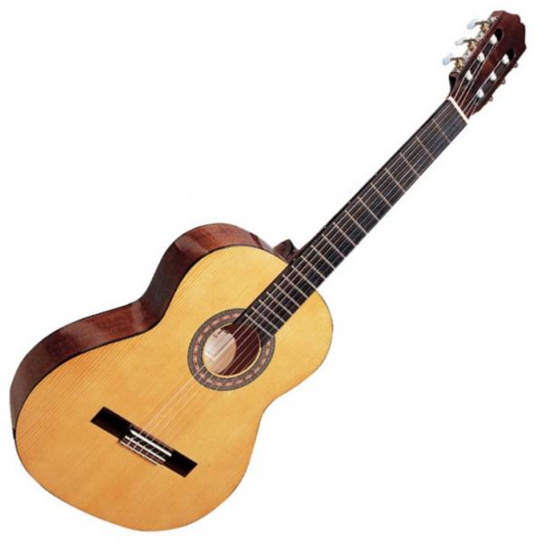 Guitare classique format 3/4 Santos y mayor Conservatorio 9 3/4B - natural