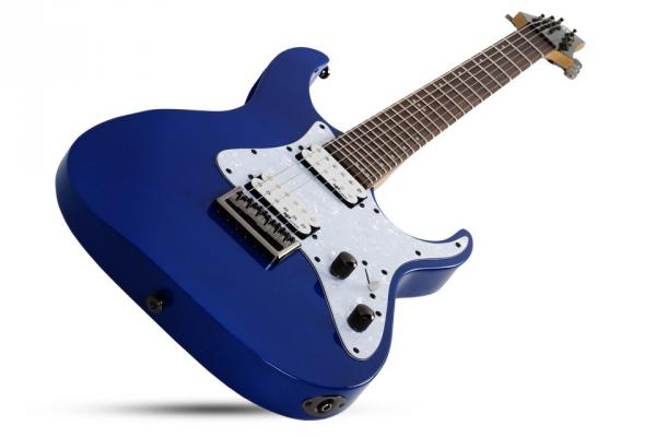 Guitare électrique solid body Schecter Banshee-6 SGR - electric blue