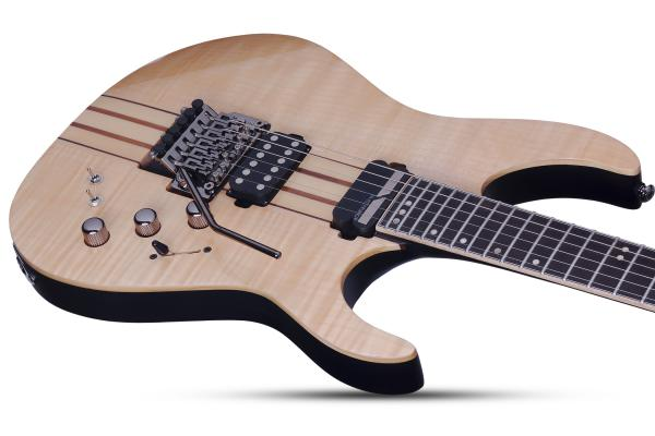 Guitare électrique solid body Schecter Banshee Elite-6 FR S - natural