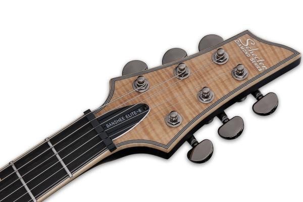 Guitare électrique solid body Schecter Banshee Elite-6 - gloss natural
