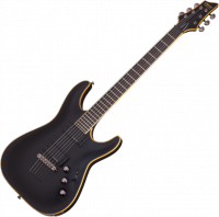 Guitare électrique solid body Schecter Blackjack ATX C1 - Aged black satin