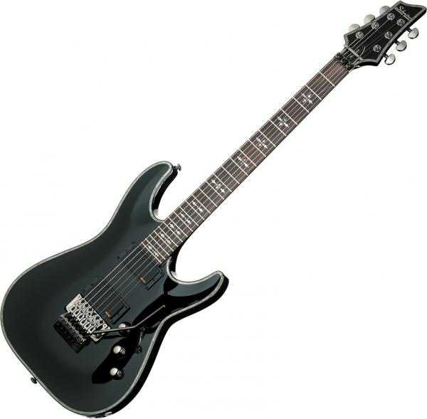 Guitare électrique solid body Schecter Hellraiser C-1 FR - black