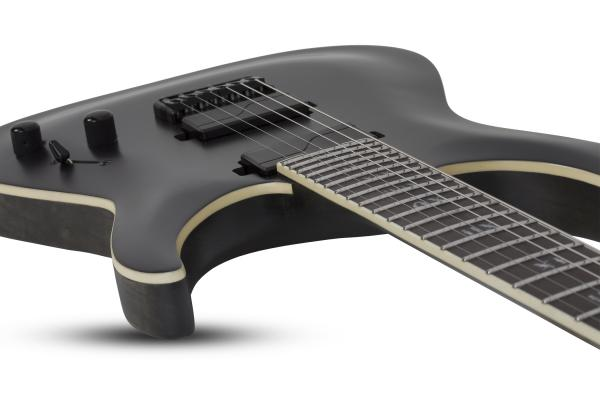 Guitare électrique solid body Schecter C-1 SLS Evil Twin - satin black