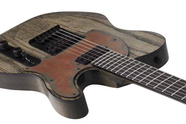 Guitare électrique solid body Schecter PT Apocalypse - rusty grey