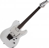 Guitare électrique solid body Schecter Sun Valley Super Shredder PT FR - Metallic white