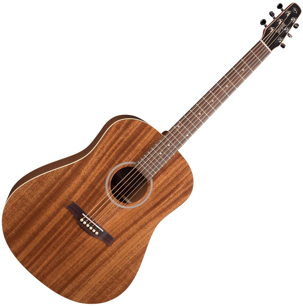 guitare folk seagull s6 mahogany deluxe a e natural star 39 s music. Black Bedroom Furniture Sets. Home Design Ideas
