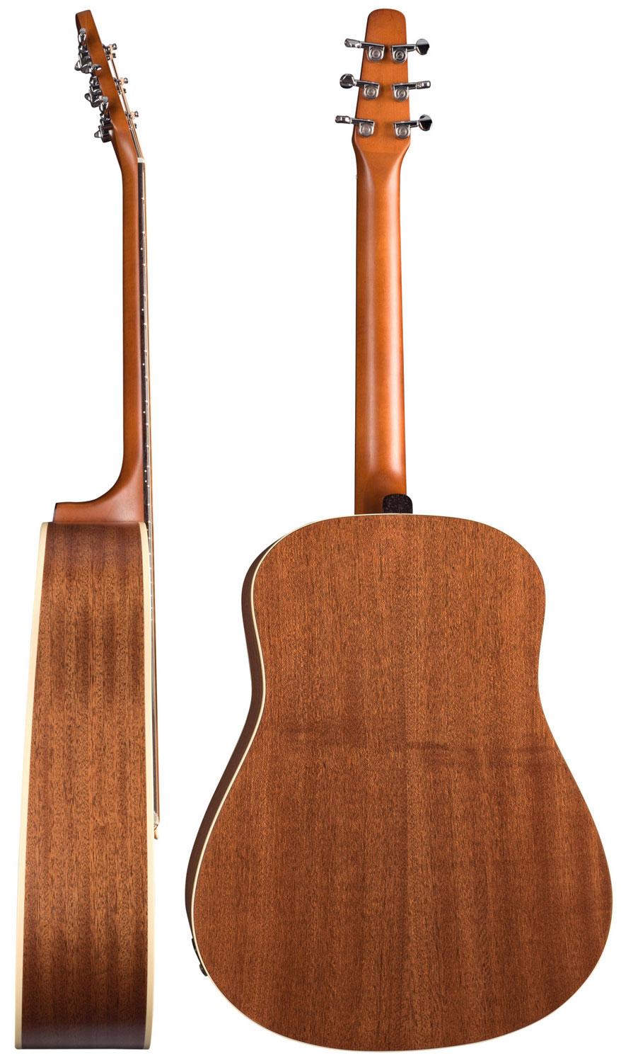 guitare folk seagull s6 mahogany deluxe a e bag star 39 s music. Black Bedroom Furniture Sets. Home Design Ideas