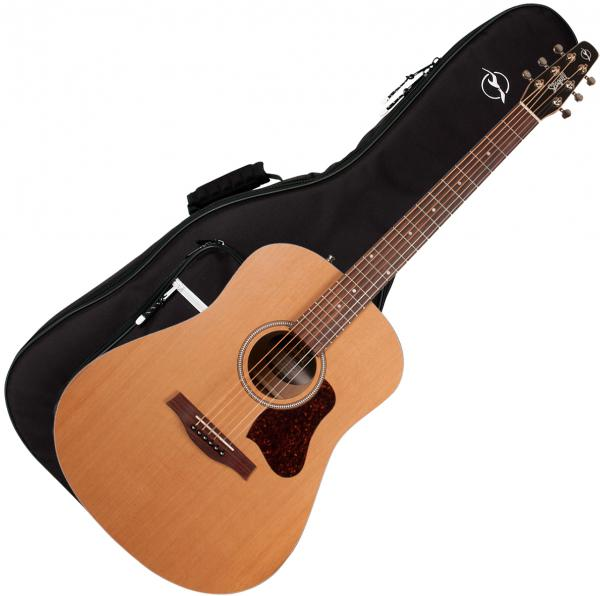 Guitare folk Seagull S6 Original Slim QIT 2018 +Bag - natural