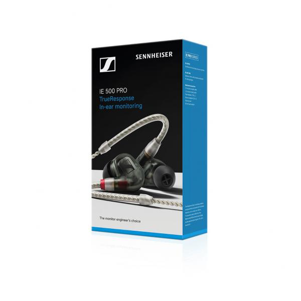 Ecouteur intra-auriculaire Sennheiser Ie 500 Pro Smoky Black